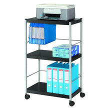 Load image into Gallery viewer, Fast Paper Mobile 3 Shelf Trolley Large