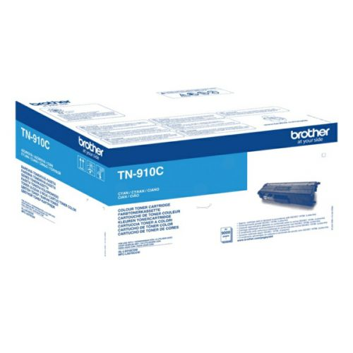 Brother TN910C Original Cyan Toner Cartridge Ultra High Yield (9000 pages)