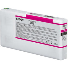 Load image into Gallery viewer, Epson C13T913300 T9133 Vivid Magenta Ink 200ml