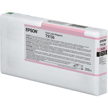 Load image into Gallery viewer, Epson C13T913600 T9136 Vivid Light Magenta Ink 200ml