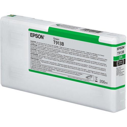 Epson C13T913B00 T913B Green Ink 200ml