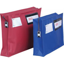 Load image into Gallery viewer, Versapak Mailing Pouch With Gusset 355 X 250 X 75mm Red