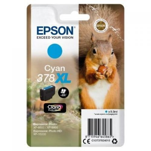 Epson C13T37924010 378XL Cyan Ink 9ml