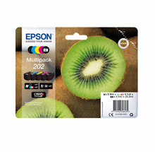 Load image into Gallery viewer, Epson C13T02E74010 202 Black Colour Ink 7ml 4x4ml Multi