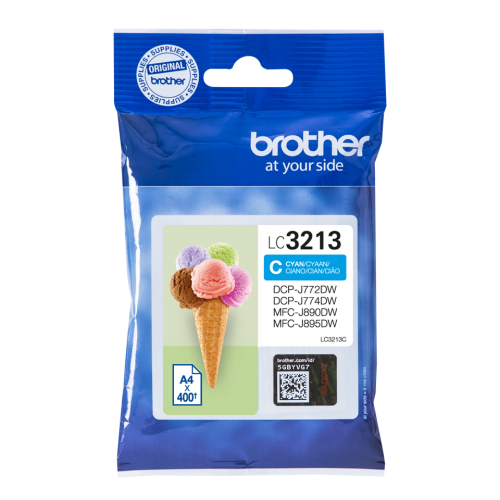 Brother LC3213C Cyan Ink 10ml