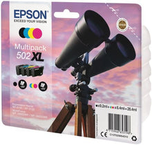 Load image into Gallery viewer, Epson C13T02W64010 502XL Black Colour Ink 28ml Multipack