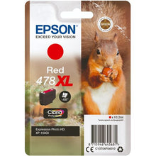 Load image into Gallery viewer, Epson C13T04F54010 478XL Red Ink 10ml