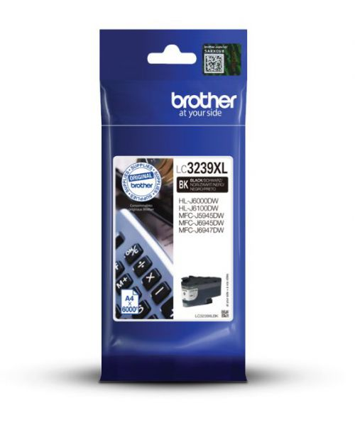 Brother LC3239XLBK Black Ink 128ml - xdigitalmedia