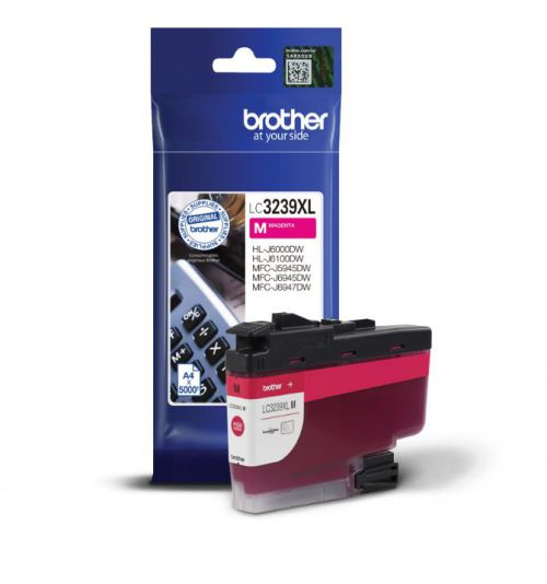 Brother LC3239XLM Original Magenta Ink Cartridge (5000 pages)