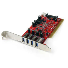 Load image into Gallery viewer, StarTech 4 Port SuperSpeed USB 3.0 PCI Card