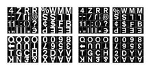 Load image into Gallery viewer, Bi-Office Magnetic Letters Nos And Symbols 19mm