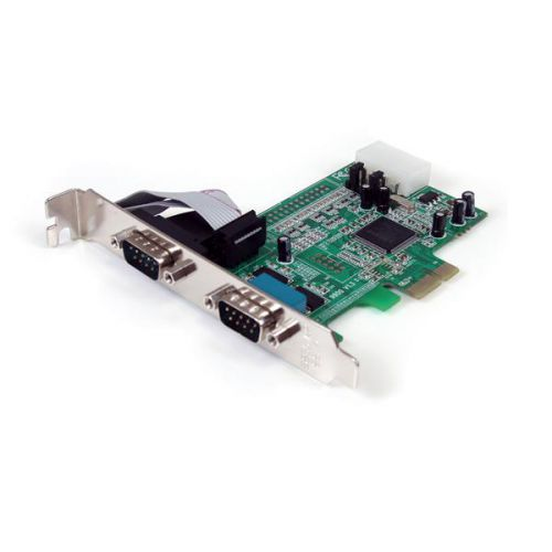 2PT PCIe Serial Adapter Card 16550 UART