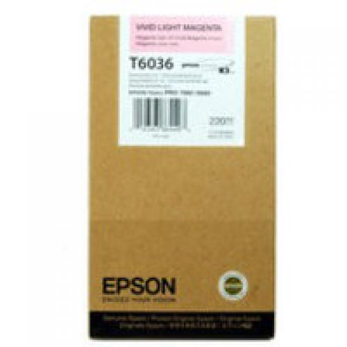 Epson C13T603600 T6036 Vivid Light Magenta Ink 220ml