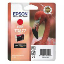 Load image into Gallery viewer, Epson C13T08774010 T0877 Red Ink 11ml