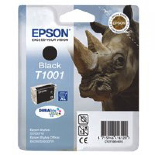 Epson C13T10014010 T1001 Black Ink 26ml