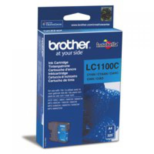 Brother LC1100C Cyan Ink 6ml