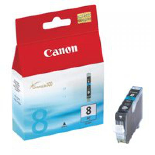 Canon 0624B001 CLI8 Photo Cyan Ink 13ml