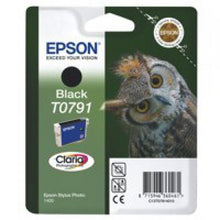 Load image into Gallery viewer, Epson C13T07914010 T0791 Black Ink 11ml