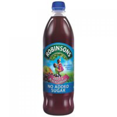 Robinsons NAS Apple n Blackcurrant 1L (Pack 12)