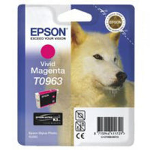 Load image into Gallery viewer, Epson C13T09634010 T0963 Vivid Magenta Ink 11ml