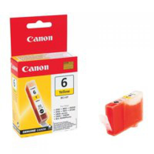 Canon 4708A002 BCI6 Yellow Ink 13ml