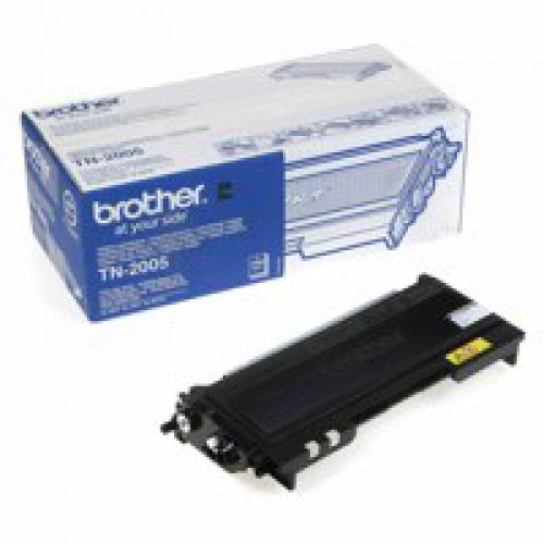 Brother TN2005 Original Black Toner Cartridge (1500 pages)