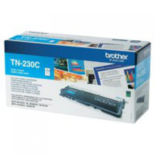 Brother TN230C Cyan Toner 1.4K
