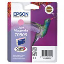 Load image into Gallery viewer, Epson C13T08064011 T0806 Light Magenta Ink 7ml