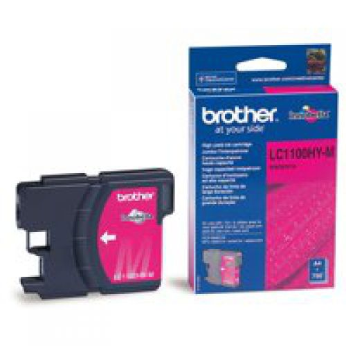Brother LC1100HYM Magenta Ink 10ml
