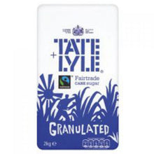 Load image into Gallery viewer, Tate & Lyle Granulated Pure Cane Sugar Bag 2kg