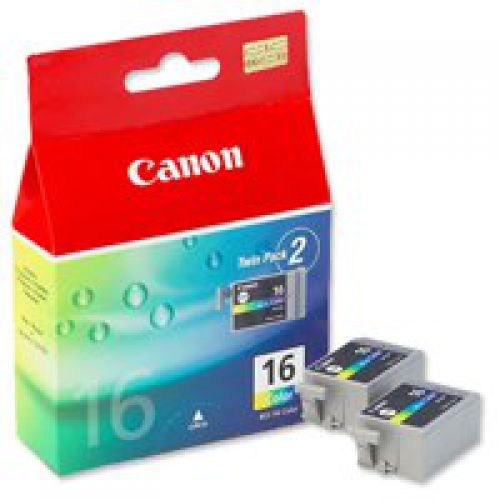 Canon 9818A002 BCI16 Colour Ink 3ml Twinpack