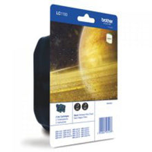 Load image into Gallery viewer, Brother LC1100BK Black Ink 2x10ml Twinpack - xdigitalmedia