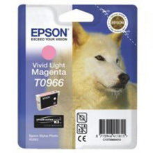 Load image into Gallery viewer, Epson C13T09664010 T0966 Vivid Light Magenta Ink 11ml