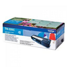 Load image into Gallery viewer, Brother TN320C Original Cyan Toner Cartridge (1500 pages)