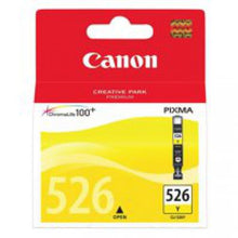 Load image into Gallery viewer, Canon 4543B001 CLI526 Yellow Ink 9ml
