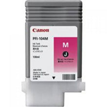Load image into Gallery viewer, Canon 3631B001 PFI104 Magenta Ink 130ml