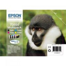 Load image into Gallery viewer, Epson C13T08954010 T0895 Black Colour Ink 6ml 3x3.5ml Multi
