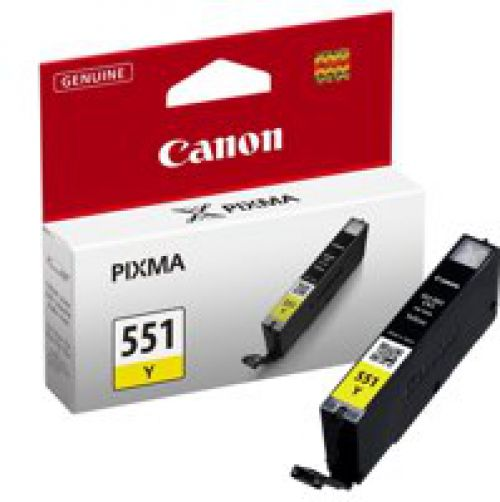 Canon 6511B001 CLI551 Yellow Ink 7ml