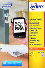 Load image into Gallery viewer, Avery QR Code Labels 35x35mm L7120-25 35 p/sheet PK875