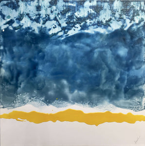 Original encaustic fine art for collectors and interior design