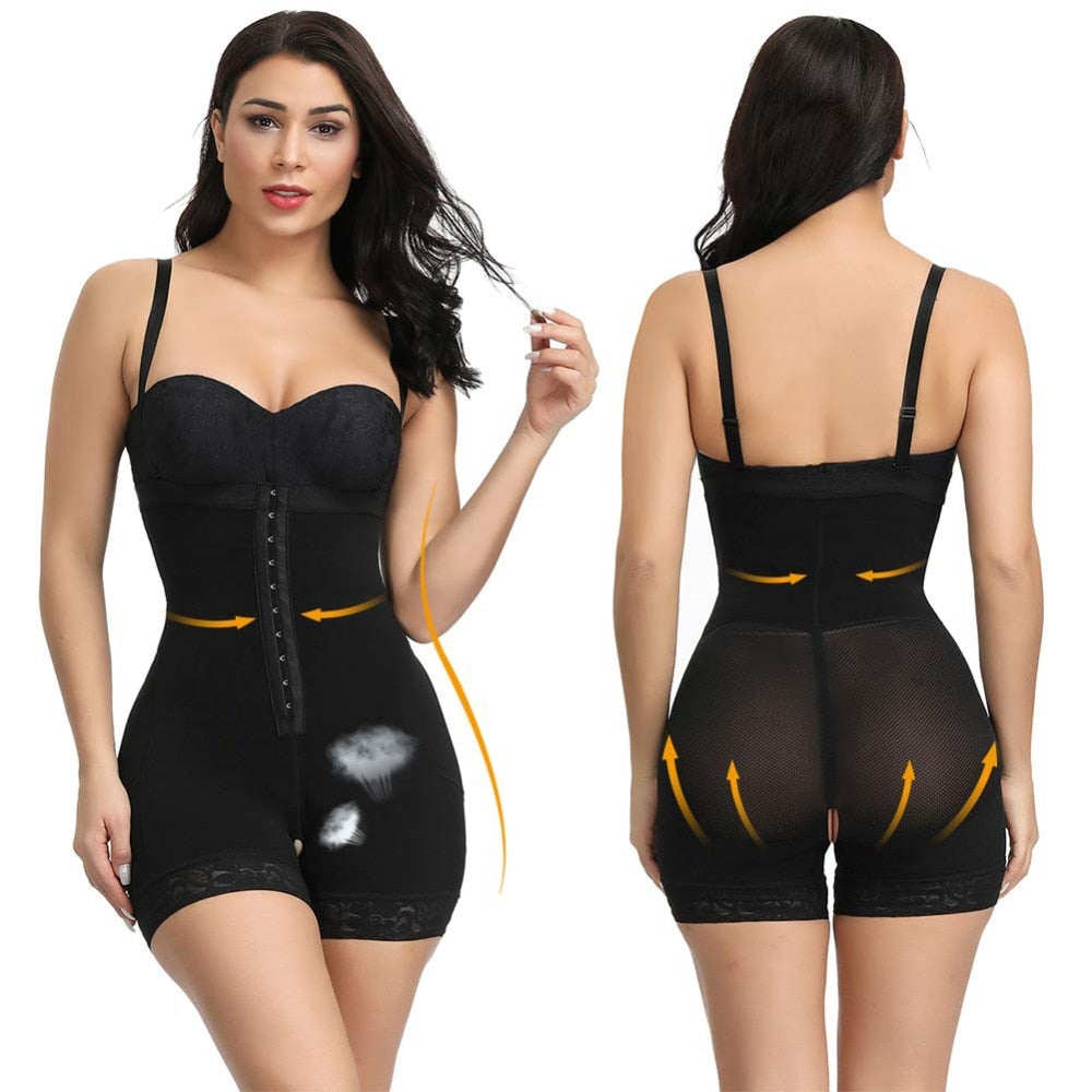 """MARIAH"" - PREMIUM FULL BODY SHAPER WITH HOOKS & BUTT LIFTER"