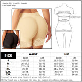 "[""CELÍNA""- ZIPPER BOOTY SHORTS BODY SHAPER] - curvi angel"