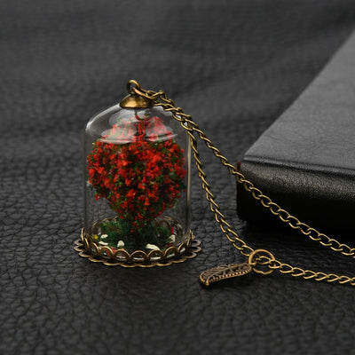 Miniature Tree Necklace