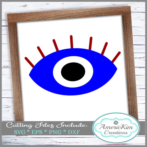 Greek Eye  SVG Digital Download