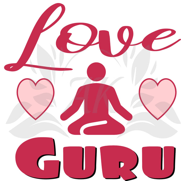 Love Guru SVG Digital Downloads Valentine Cutting File
