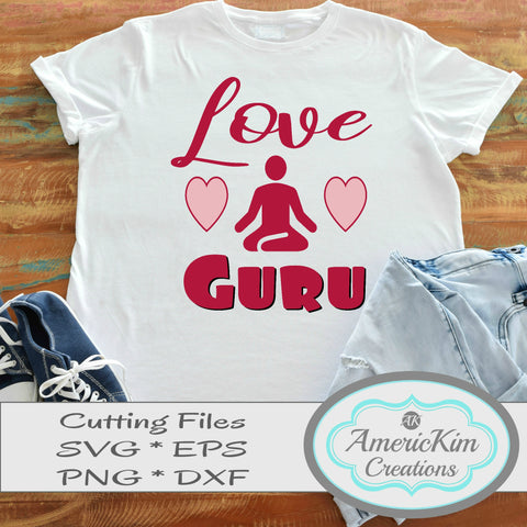 Love Guru SVG Digital Downloads