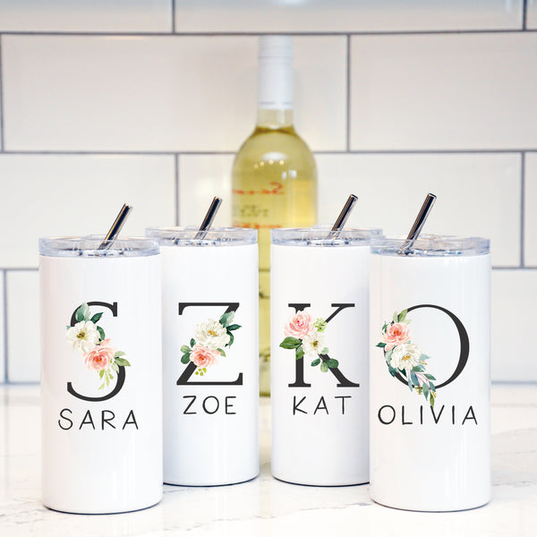 Bridesmaid/Maid of Honor Custom Tumbler