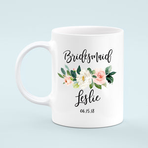 Bridesmaid Custom Gift Mug