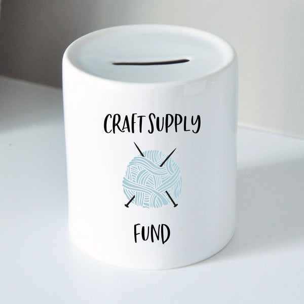 Craft Supply Fund Coin Bank