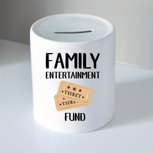 Family Entertainment Fund Coin Bank